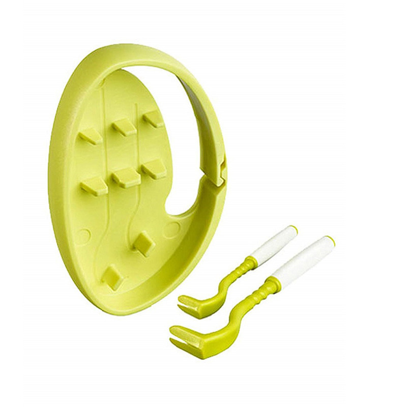 Tick Twister Clip Box - kleszczołapki, zestaw 2 szt (małe i duże) w pudełeczku, kolor zielony