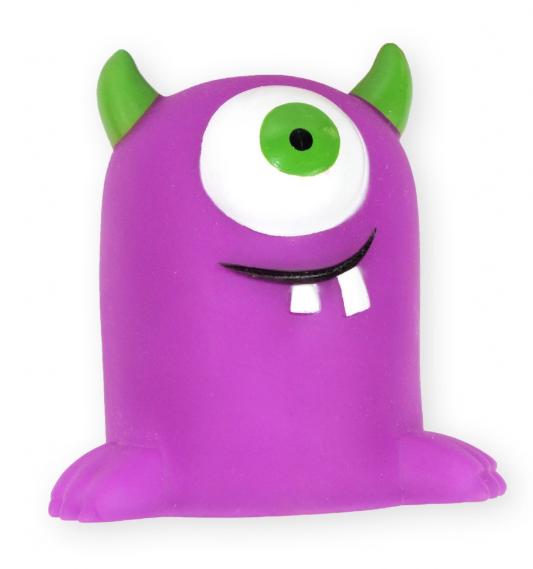 PET NOVA Monster - zabawka winylowa dla psa, 10 cm