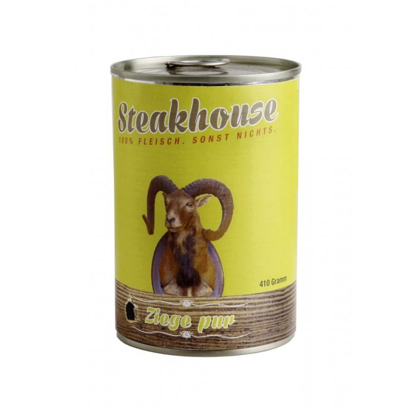 MEATLOVE Steakhouse Pure Goat mokra karma dla psa 410g i 820g