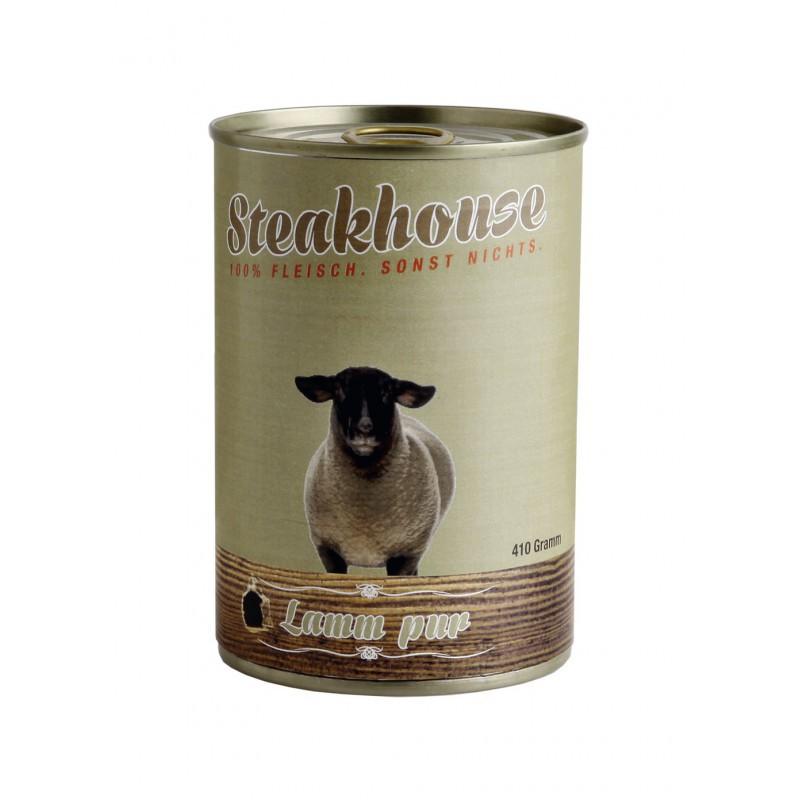 MEATLOVE Steakhouse Pure Lamb mokra karma dla psa 410g i 820g