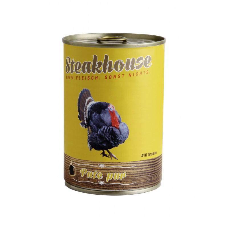 MEATLOVE Steakhouse Pure Turkey mokra karma dla psa 410g i 820g