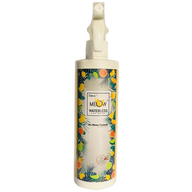 True Iconic Meow Waterless Cat Bath Spray - szampon na sucho dla kotów, 500 ml