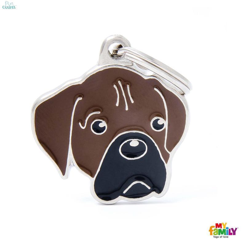 MY FAMILY Friends Bokser - adresówka dla psa