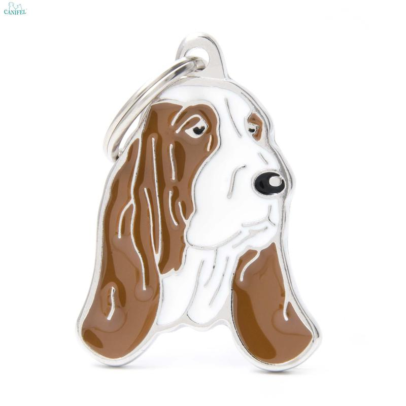 MY FAMILY Friends Basset Hound - adresówka dla psa