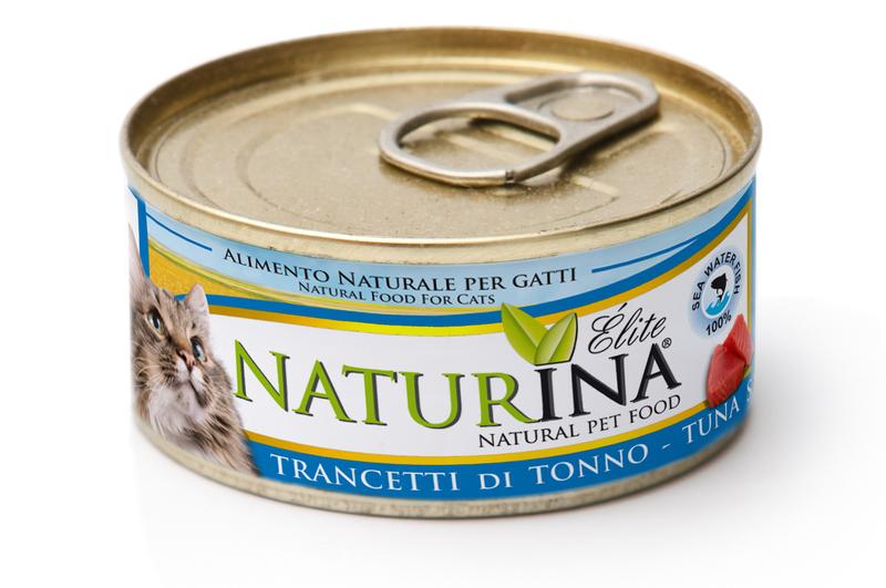 NATURINA Cat 70g kawałki tuńczyka