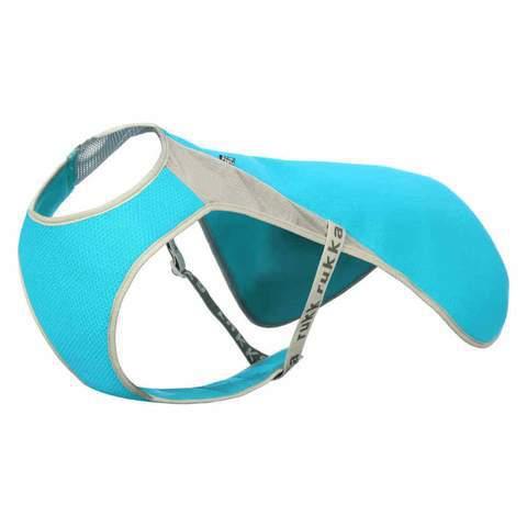 RUKKA Cool Vest Kamizelka chłodząca dla psa, niebieska, 5 rozmiarów