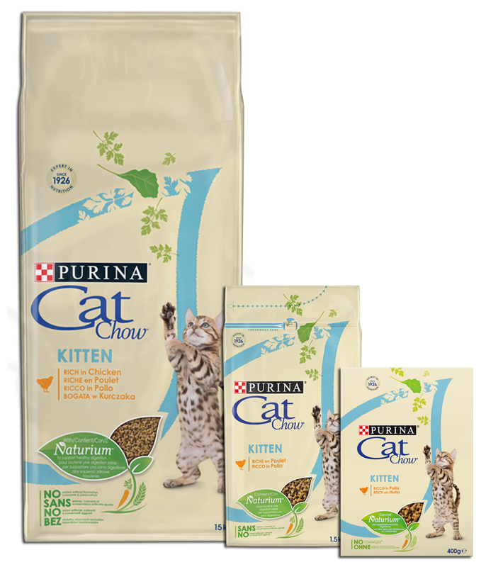 PURINA CAT CHOW KITTEN - karma dla kociąt