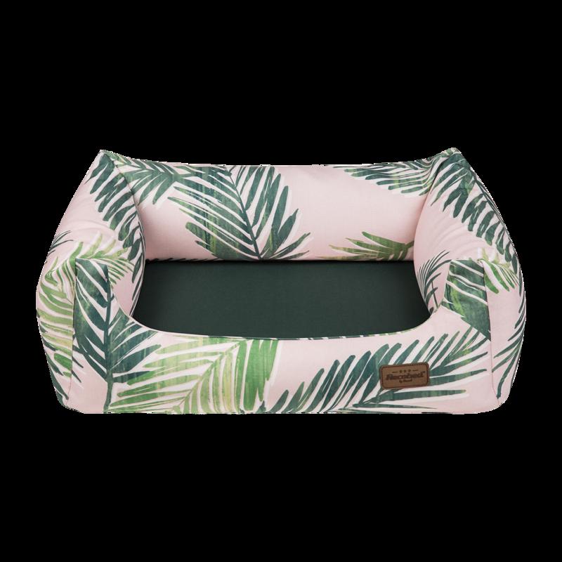RECOBED Palms - kanapa dla psów z motywem palm