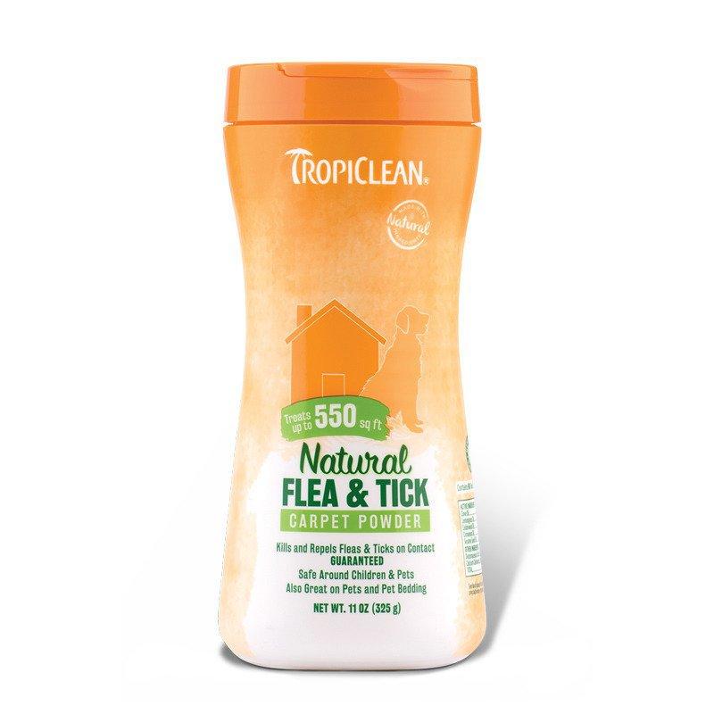 TROPICLEAN Flea & Tick Powder - puder insektobójczy (zwierzę i otoczenie) 325 g