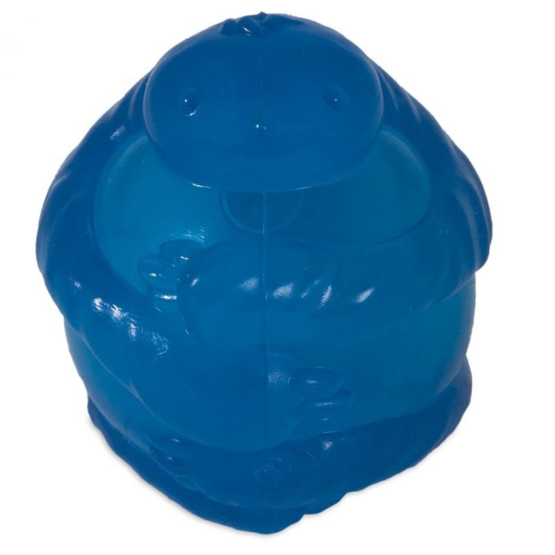 JW PET Leniwiec z piszczałką - piłka dla psa