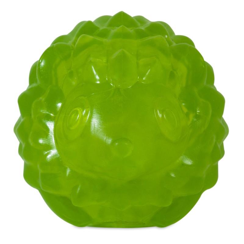 JW PET Jeż z piszczałką - piłka dla psa