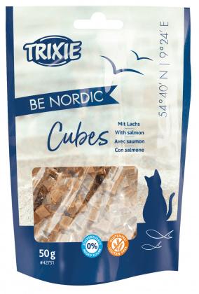 TRIXIE PREMIO BE NORDIC Salmon Cubes - przysmak dla kota 50g