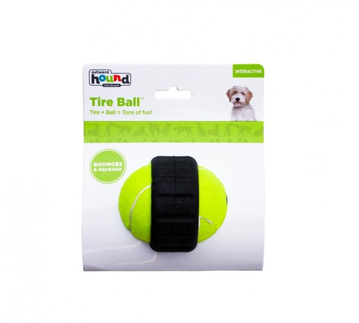 OUTWARD Hound Tire Ball piszcząca piłka dla psa