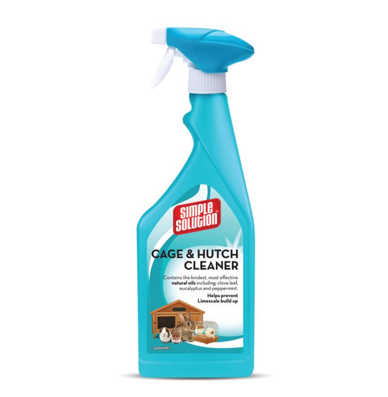 SIMPLE Solution Cage & Hutch Cleaner do czyszczenia klatek 500ml
