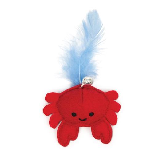 CATIT Pluszowy Krab nasączony kocimiętką - zabawka dla kota