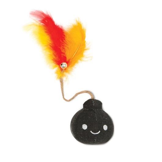 CATIT Pluszowa Bomba nasączona kocimiętką - zabawka dla kota