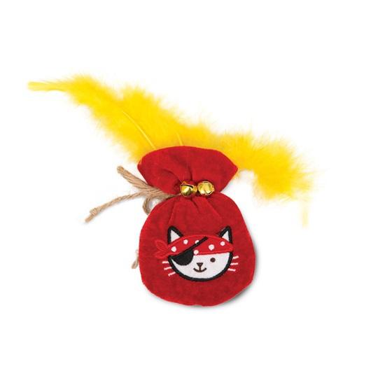 CATIT Pluszowy Worek złota nasączony kocimiętką - zabawka dla kota