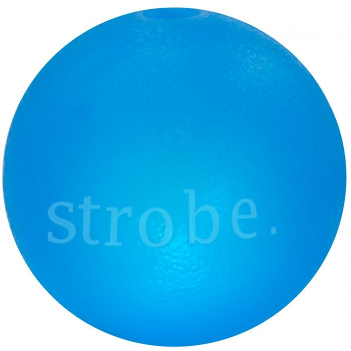 PLANET DOG Strobe Ball niebieska piłka dla psa