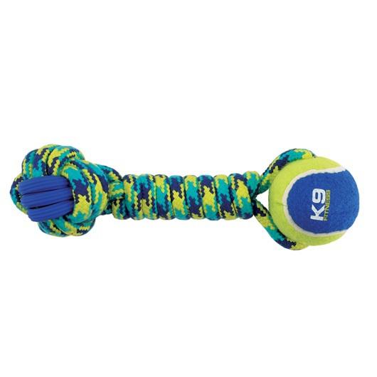 ZEUS K9 Fitness Hantel sznurowy z piłką tenisową
