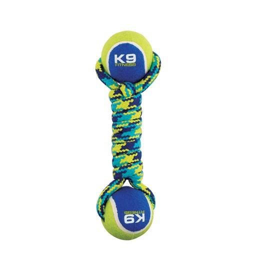 ZEUS K9 Fitness Double Tennis sznur z dwoma piłkami tenisowymi