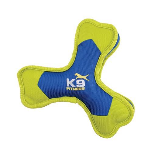 ZEUS K9 Fitness Tri-Bone - Bumerang nylonowy trójramienny, 24 cm