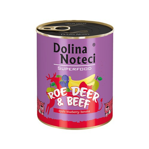 DOLINA NOTECI Superfood Sarna i wołowina 400g i 800g