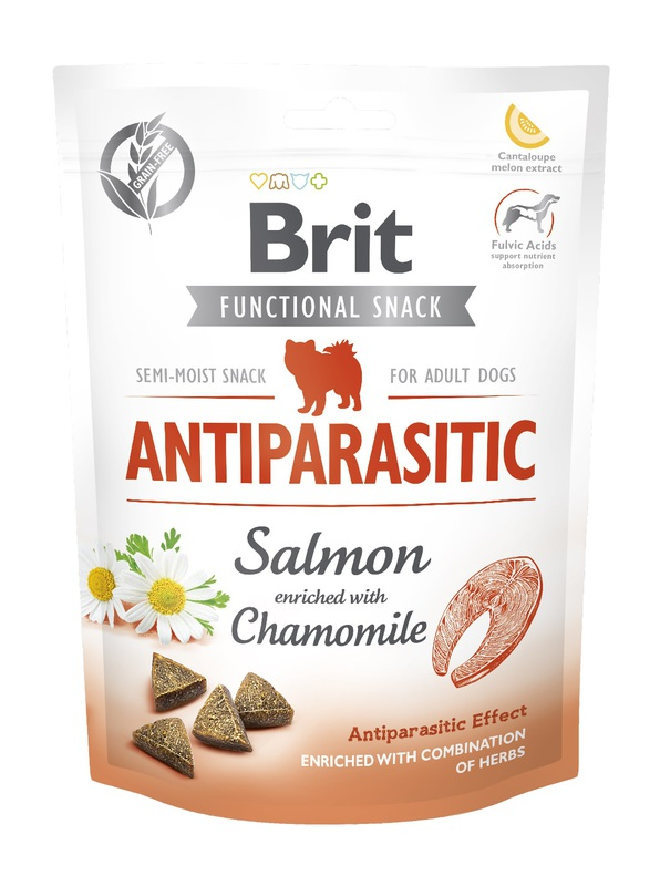 BRIT Care Dog Functional Snack Antiparasitic 150g, przysmak dla psa