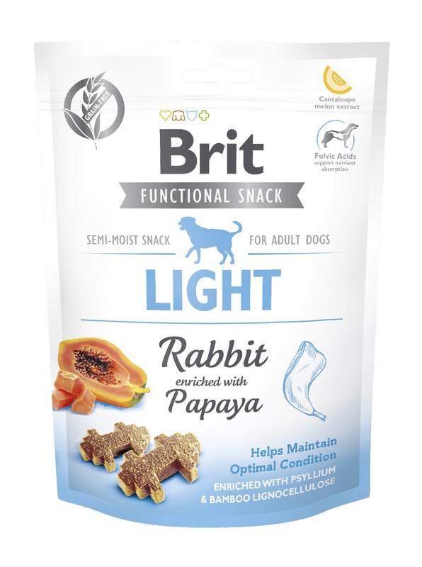 BRIT Care Dog Functional Snack Light Rabbit 150g, przysmak dla psa