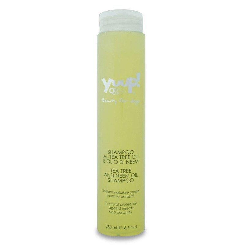 YUUP! Home Tea Tree and Neem Oil - szampon chroniący przed kleszczami i pchłami