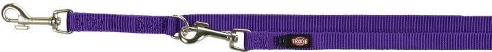 TRIXIE Premium - smycz regulowana dla psa, kolor fioletowy