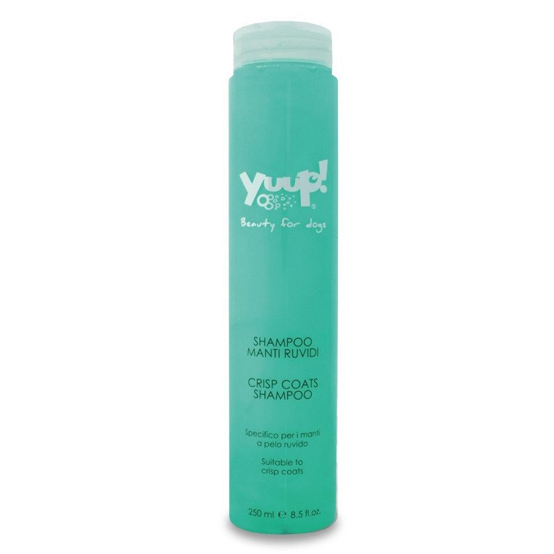 YUUP! Crisp Coat Shampoo - szampon dla ras z twardym i szorstkim włosem, dla psów i kotów