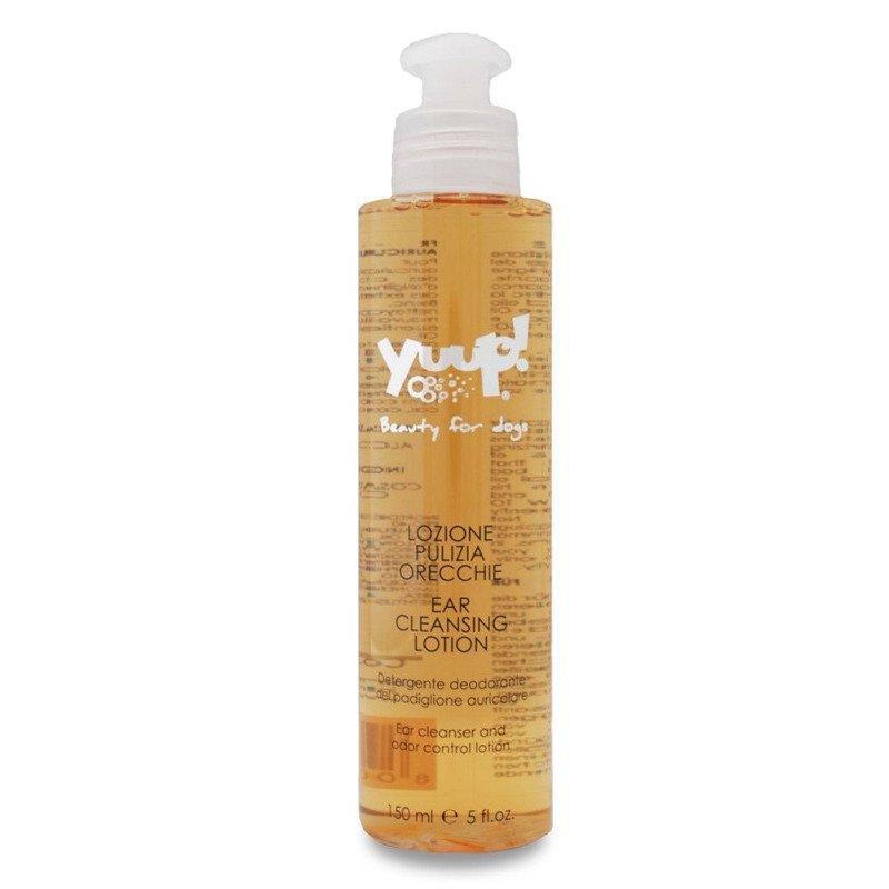 YUUP! Home Ear Cleaning Lotion - preparat do czyszczenia uszu zwierząt z naturalnymi ekstraktami, 150 ml