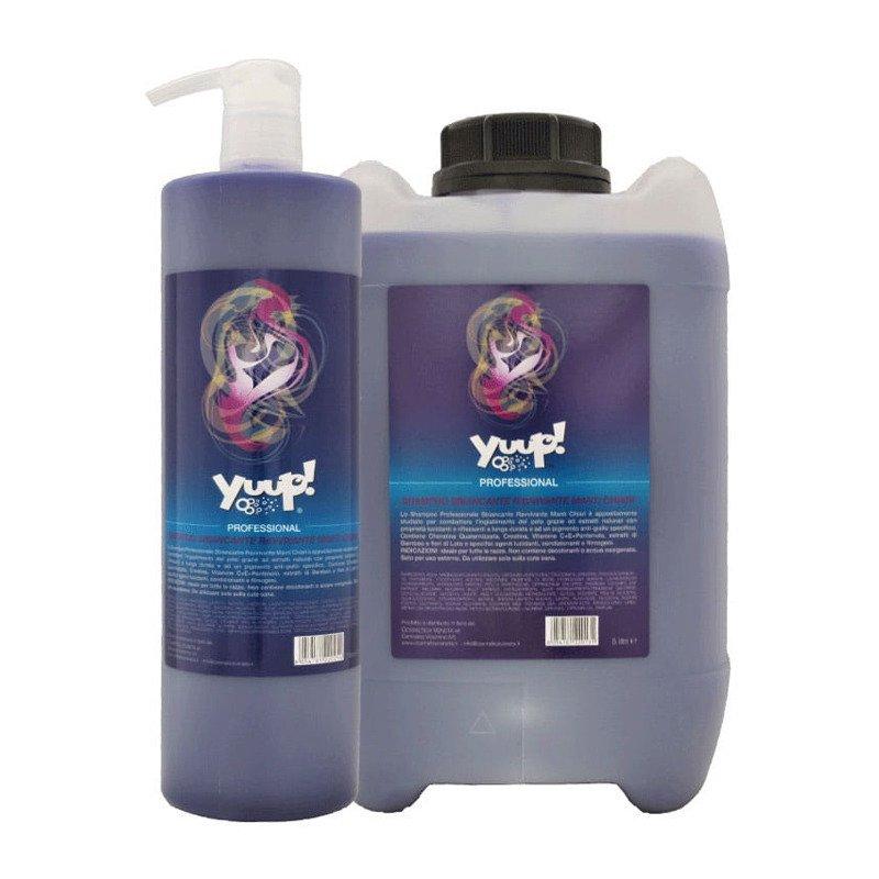 YUUP! Professional Whitening & Brightening Shampoo - profesjonalny szampon wybielająco - rozjaśniający, koncentrat 1:20