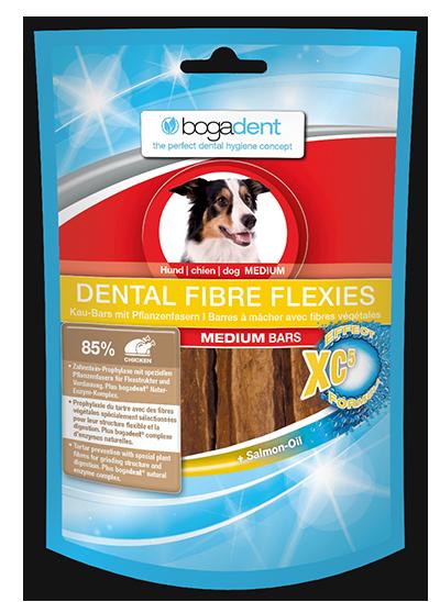 BOGADENT Dental Fibre Flexi przysmak dla psa, 2 rozmiary, 70g
