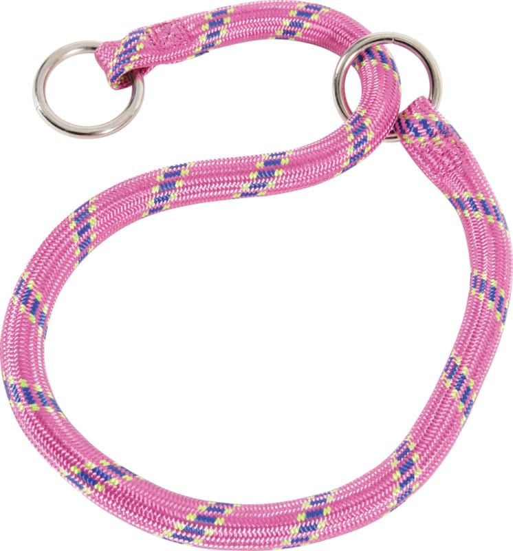 ZOLUX Obroża nylonowa - dławik dla psa w kolorze różowym
