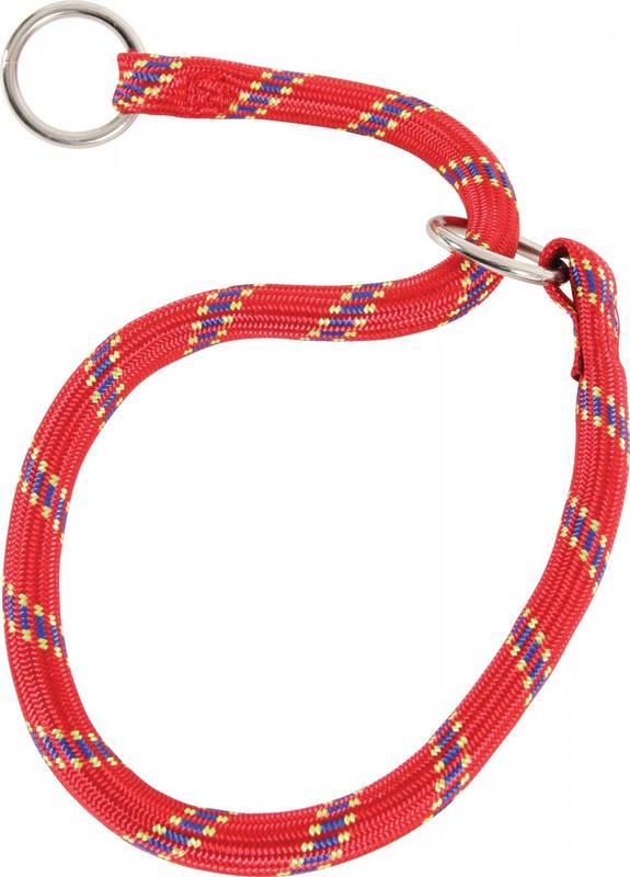 ZOLUX Obroża nylonowa - dławik dla psa w kolorze czerwonym
