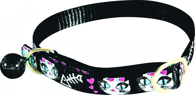ZOLUX Obroża dla kota Lady Cat w kolorze czarnym