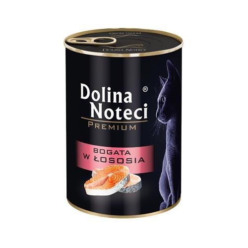 DOLINA Noteci CAT Premium bogata w łososia, 185g i 400g