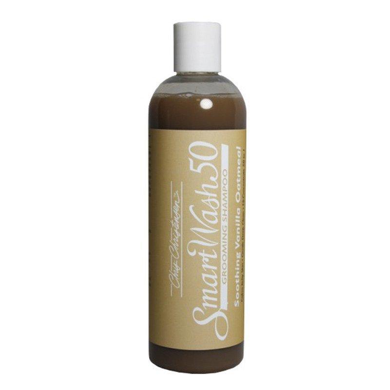 Chris Christensen Smart Wash Soothing Vanilla Shampoo - skoncentrowany (50:1) szampon do suchej, wrażliwej, podrażnionej szaty, 355 ml