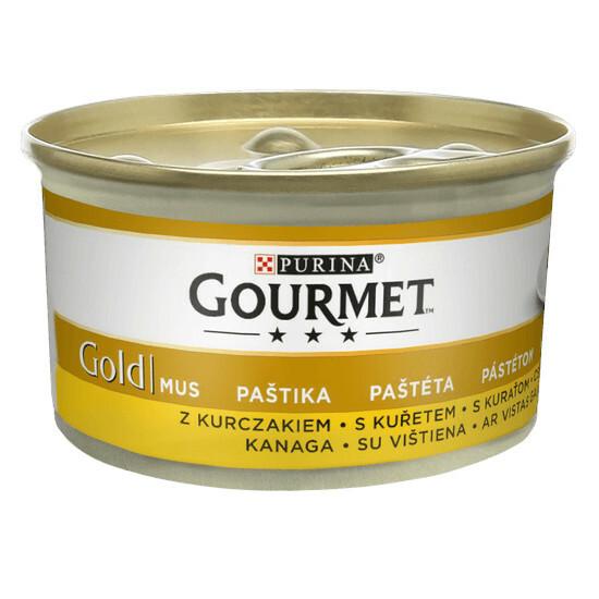 Purina Gourmet Gold Mus - karma dla kota, puszka 85g