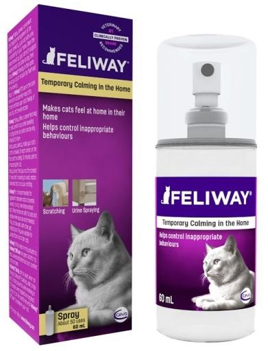FELIWAY - Kocie Feromony Policzkowe 60 ml - CEVA - spray