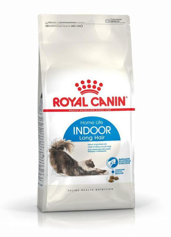 ROYAL CANIN Indoor Long Hair - karma dla kotów długowłosych przebywających w domu