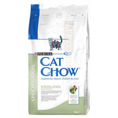 Purina Cat Chow Sterilized-Karma dla kota sterylizowanego 15 kg
