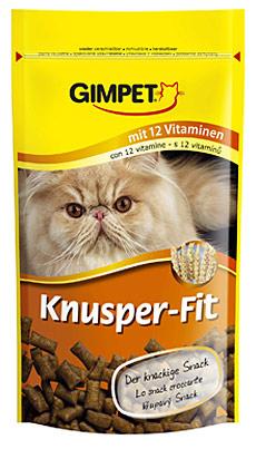 GIMPET Knusper-Fit- smakołyki dla kota, aż 12 witamin! 50g