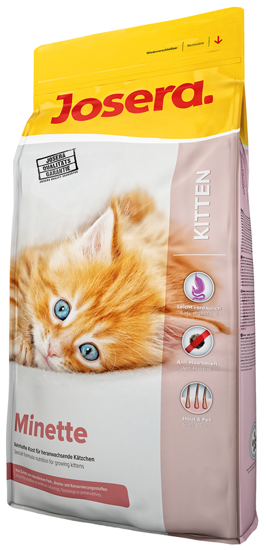 JOSERA Kitten Minette - karma dla młodych kociąt