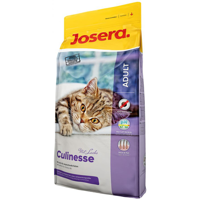 JOSERA Culinesse - karma dla kotów dorosłych o smaku drobiu i łososia