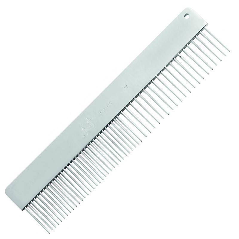 SPRATTS - grzebień nr 79 bez rączki, mieszany ze średnim/szerokim rozstawem zębów
