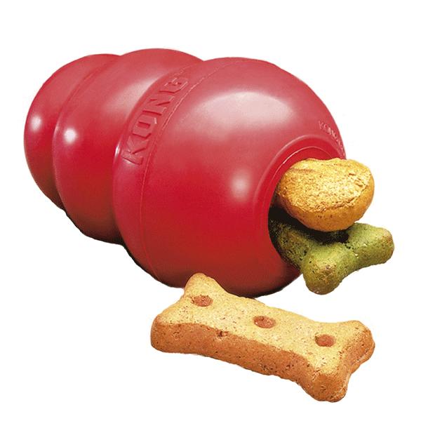 KONG Classic Red XXL King zabawka dla psa, tradycyjny