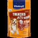 VITAKRAFT - TREATIES BITS - pieczone mięsne paszteciki, przysmak dla psa, 120g