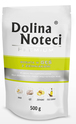 DOLINA NOTECI PREMIUM - karma dla dorosłych psów, różne smaki, doypack 500g